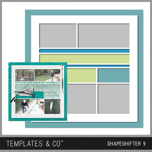 Shapeshifter 9 Digital Art - Digital Scrapbooking Kits