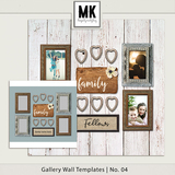 Gallery Wall Templates - 1-10 Bundle