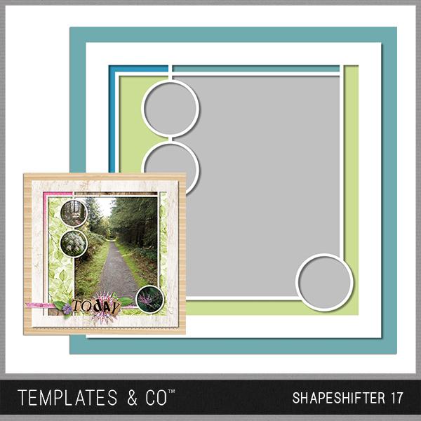 Shapeshifter 17 Digital Art - Digital Scrapbooking Kits
