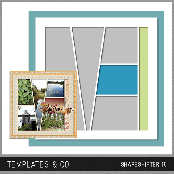 Shapeshifter 18 Digital Art - Digital Scrapbooking Kits