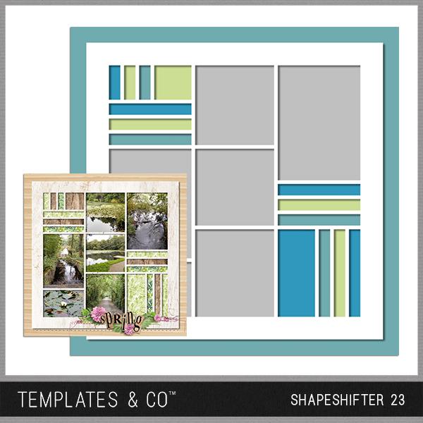 Shapeshifter 23 Digital Art - Digital Scrapbooking Kits