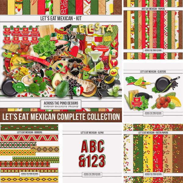 Let's Eat Mexican Bundle