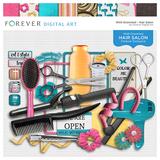 Hair Salon Page Kit
