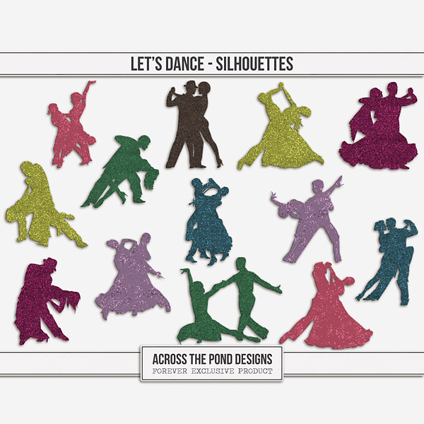 Let's Dance Silhouettes