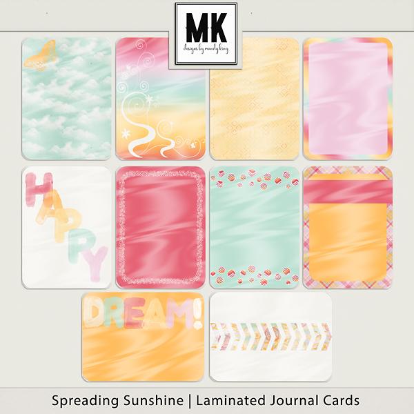 Spreading Sunshine Journal Cards