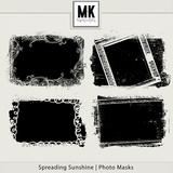 Spreading Sunshine Photo Masks