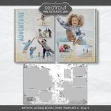 Artistic License Book Cover Template Bonus Bundle - 8.5x11
