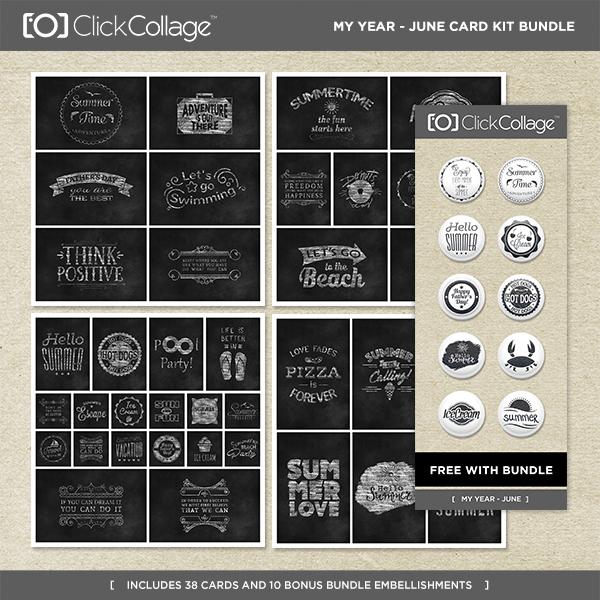 My Year - June Card Kit Bundle