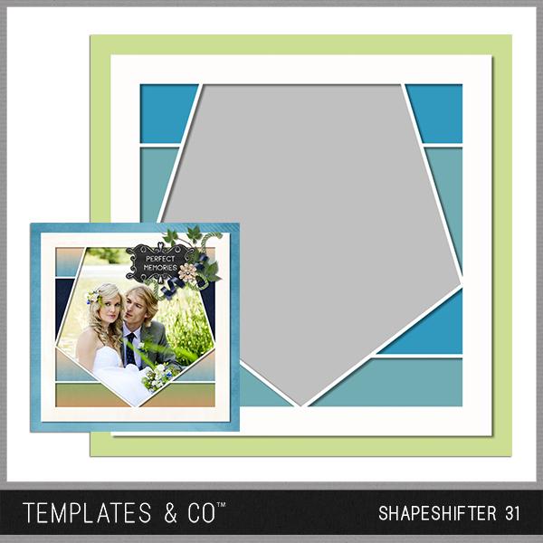Shapeshifter 31 Digital Art - Digital Scrapbooking Kits