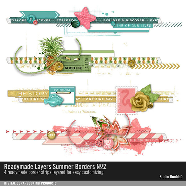 Readymade Layers Summer Borders No. 02