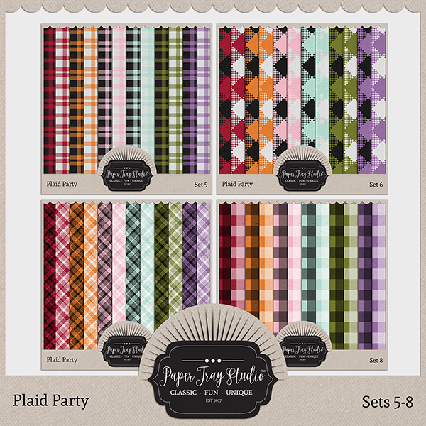 Plaid Party 5-8