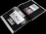 Simply Matted Black Pre-Designed Book
