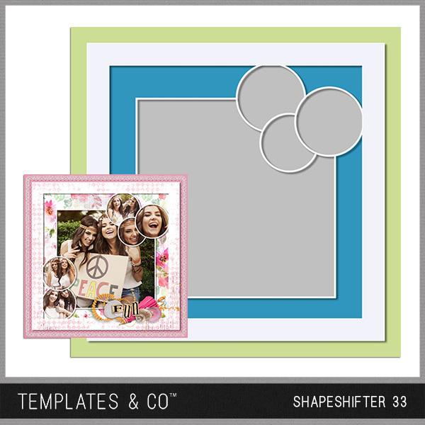 Shapeshifter 33 Digital Art - Digital Scrapbooking Kits