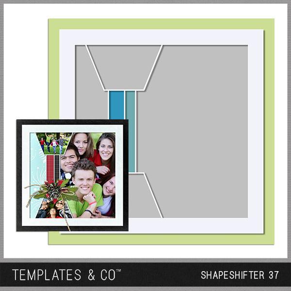 Shapeshifter 37 Digital Art - Digital Scrapbooking Kits