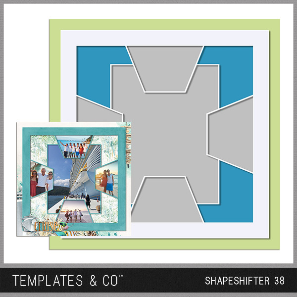 Shapeshifter 38 Digital Art - Digital Scrapbooking Kits