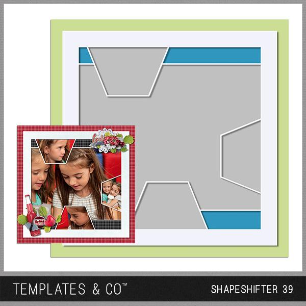 Shapeshifter 39 Digital Art - Digital Scrapbooking Kits