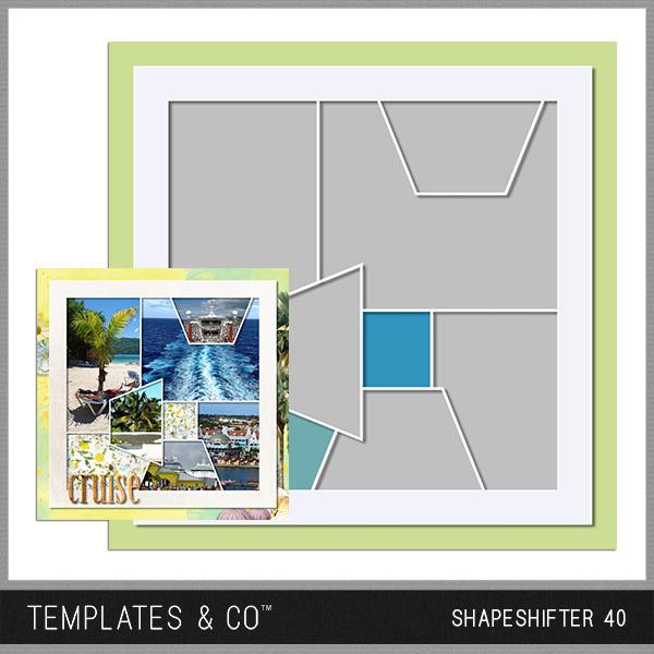 Shapeshifter 40 Digital Art - Digital Scrapbooking Kits