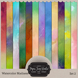Watercolor Madness Sets 1-8