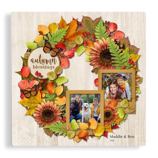 Colors of Autumn Panel Panel