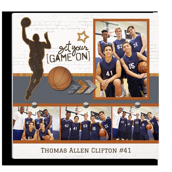 Basketball Game On Panel