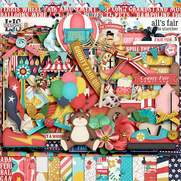 All's Fair Digital Art - Digital Scrapbooking Kits