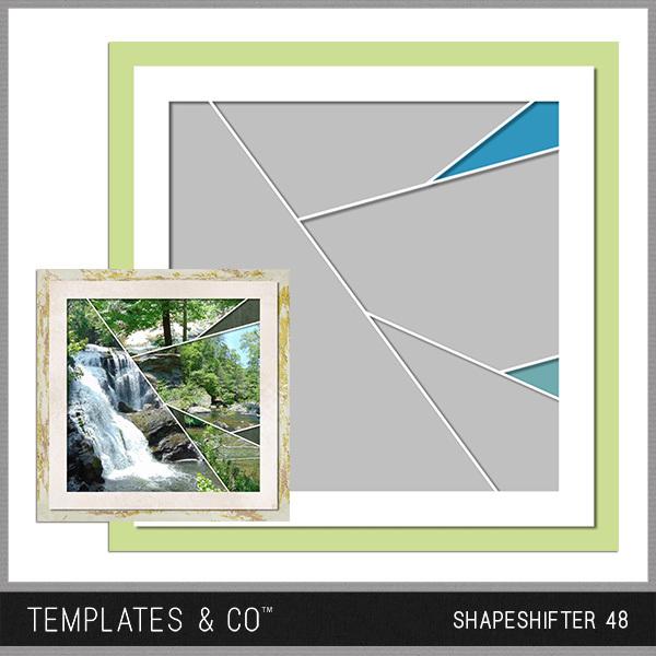 Shapeshifter 48 Digital Art - Digital Scrapbooking Kits