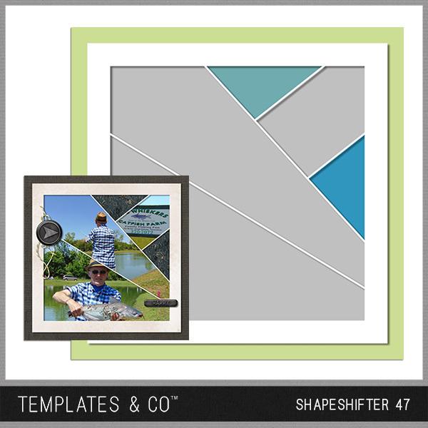Shapeshifter 47 Digital Art - Digital Scrapbooking Kits
