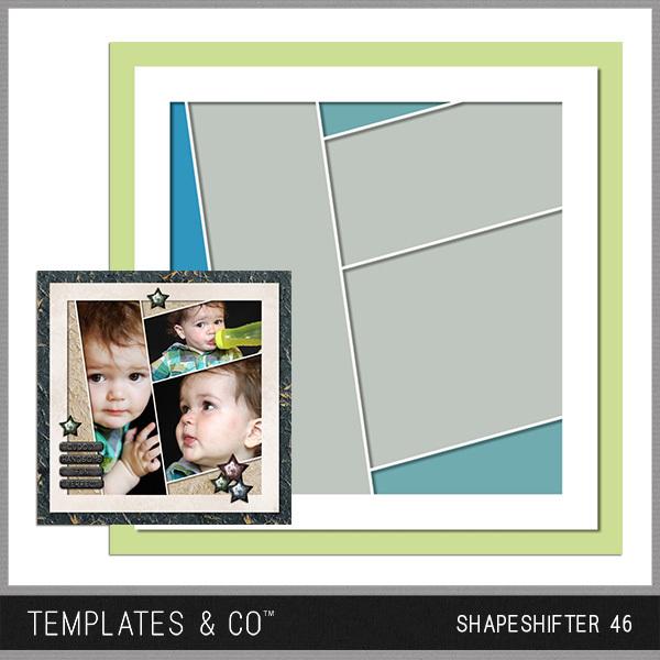 Shapeshifter 46 Digital Art - Digital Scrapbooking Kits