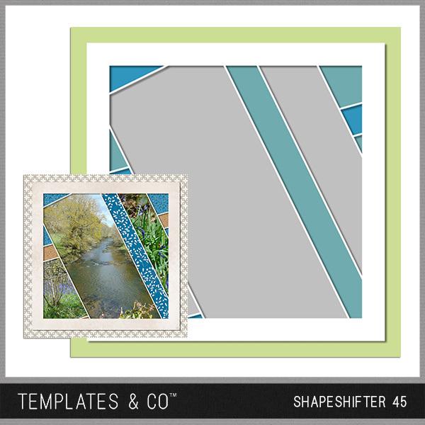 Shapeshifter 45 Digital Art - Digital Scrapbooking Kits