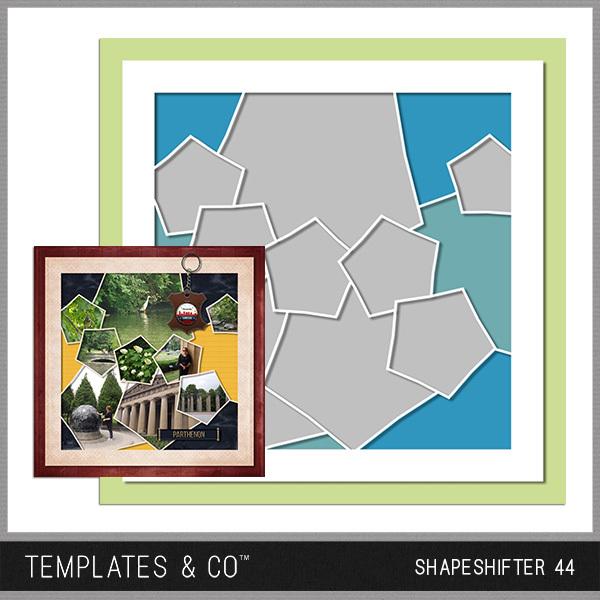 Shapeshifter 44 Digital Art - Digital Scrapbooking Kits
