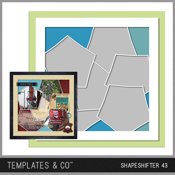 Shapeshifter 43 Digital Art - Digital Scrapbooking Kits