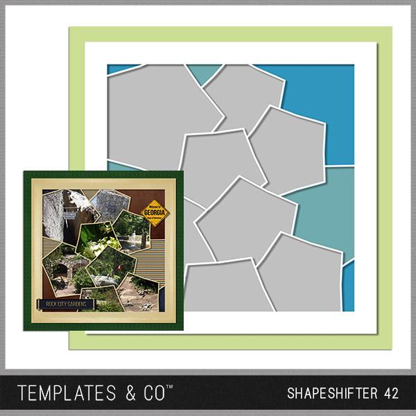 Shapeshifter 42 Digital Art - Digital Scrapbooking Kits