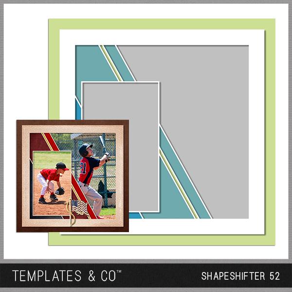 Shapeshifter 52 Digital Art - Digital Scrapbooking Kits