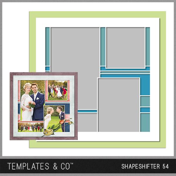Shapeshifter 54 Digital Art - Digital Scrapbooking Kits