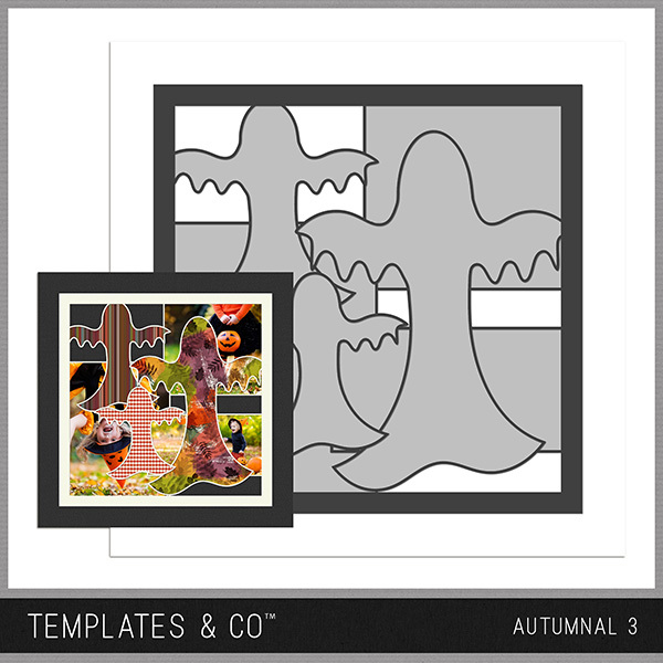 Autumnal 3 Digital Art - Digital Scrapbooking Kits