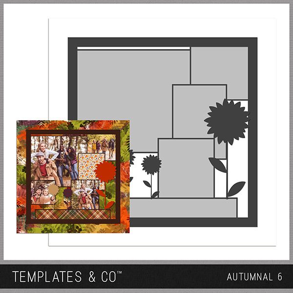 Autumnal 6 Digital Art - Digital Scrapbooking Kits