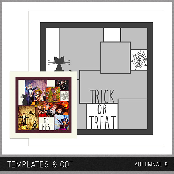 Autumnal 8 Digital Art - Digital Scrapbooking Kits