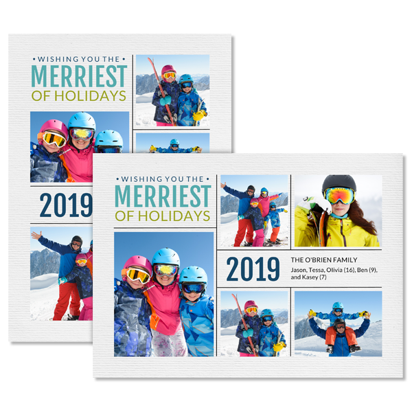 Merriest of Holidays 2019 Card