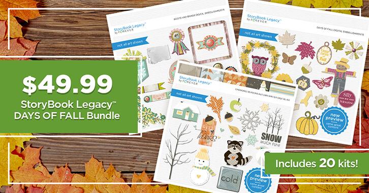 $49.99 StoryBook Legacy™ Days of Fall Bundle!