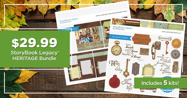 $29.99 StoryBook Legacy™ Heritage Bundle!