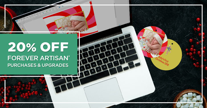 Save 20% on FOREVER Artisan® purchases and upgrades!