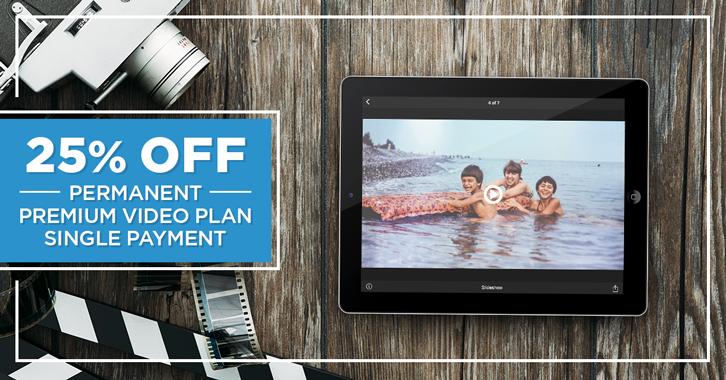 25% OFF Permanent Premium Video Plan!