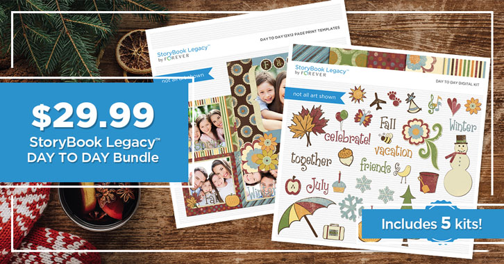 $29.99 StoryBook Legacy™ Day to Day Bundle!