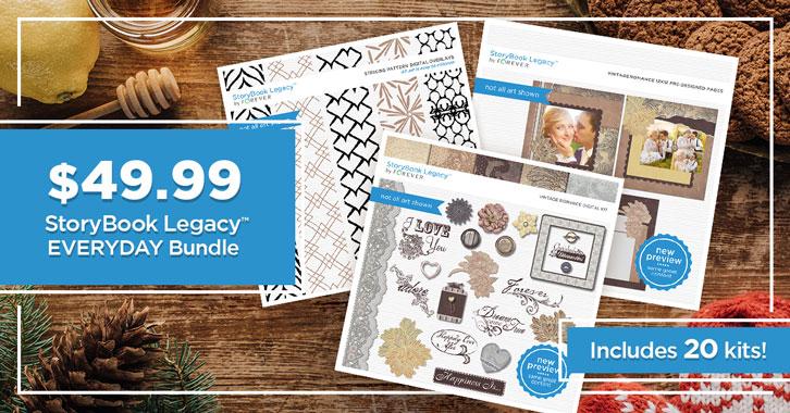 $49.99 StoryBook Legacy™ Everyday Bundle!