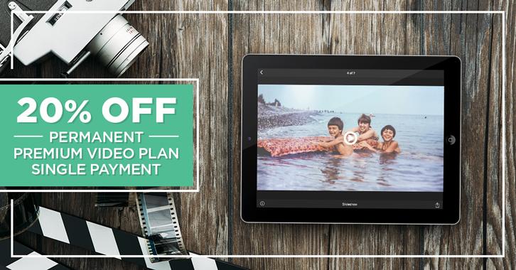 20% OFF Permanent Premium Video Plan!