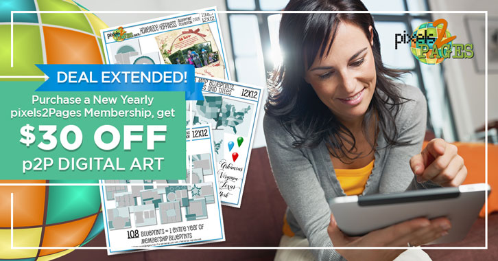 EXTENDED: Buy a new yearly p2P Membership, get $30 OFF p2P Digital Art!