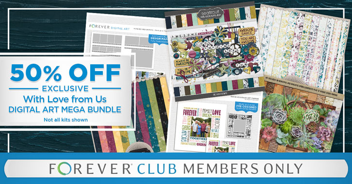 Save 50% on our With Love From Us Mega Bundle!