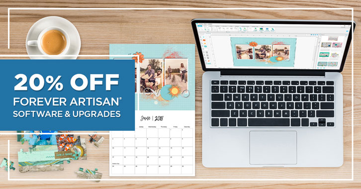 Save 20% on FOREVER Artisan® software and upgrades!