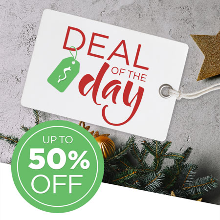 Save up to 50% on the Deal of the Day!