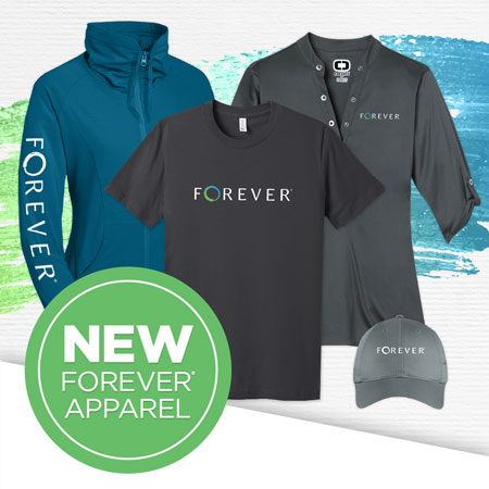 FOREVER Apparel is now available!